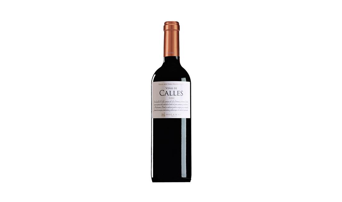 vino tinto viñas de calles roble