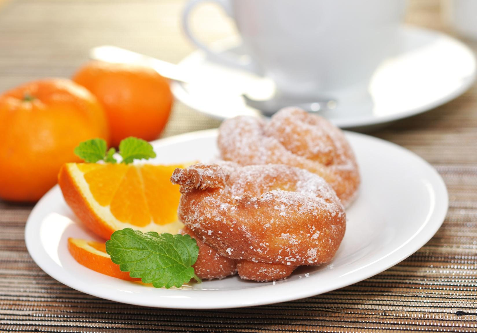 rosquillas naranja