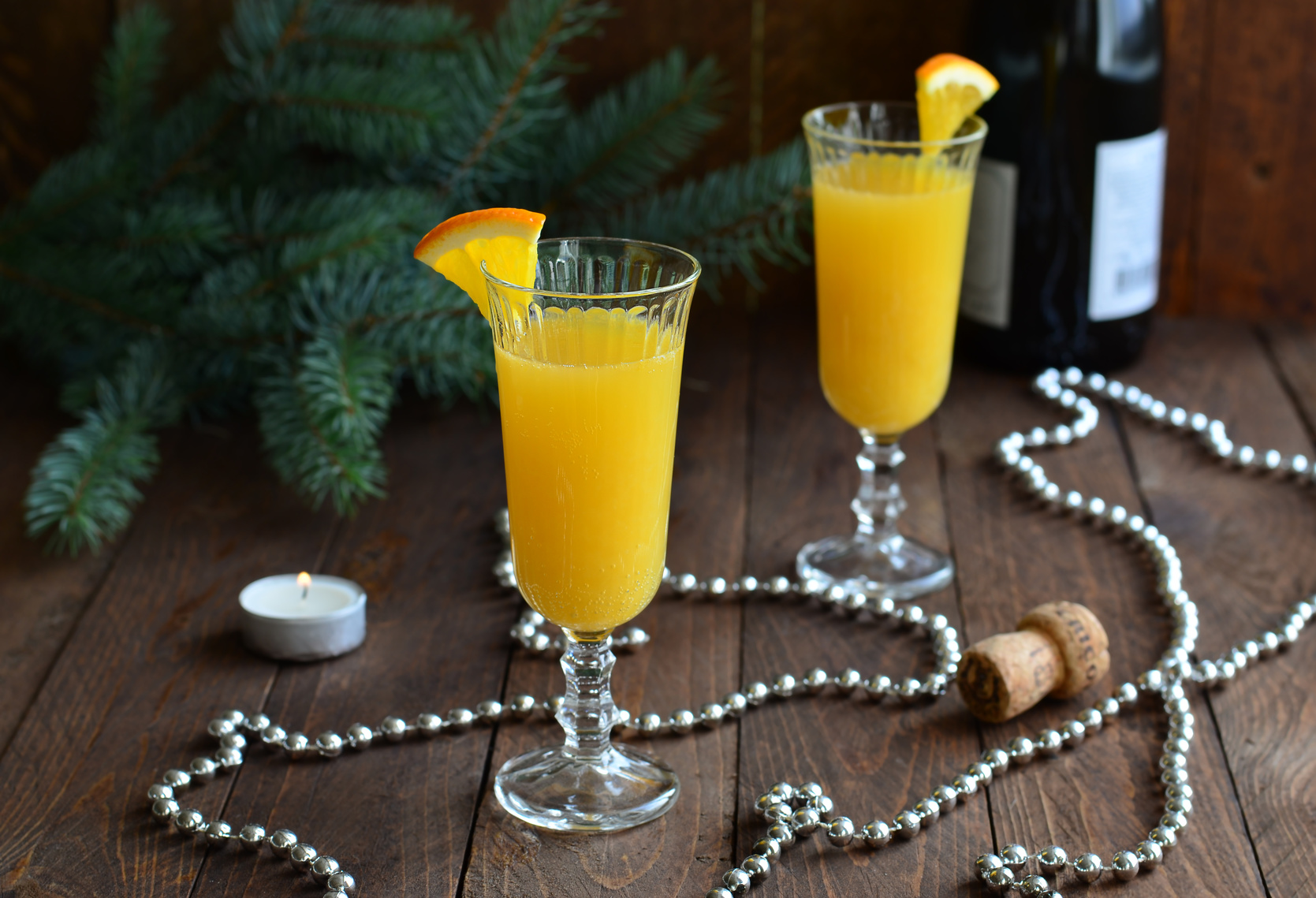 coctel cava naranja