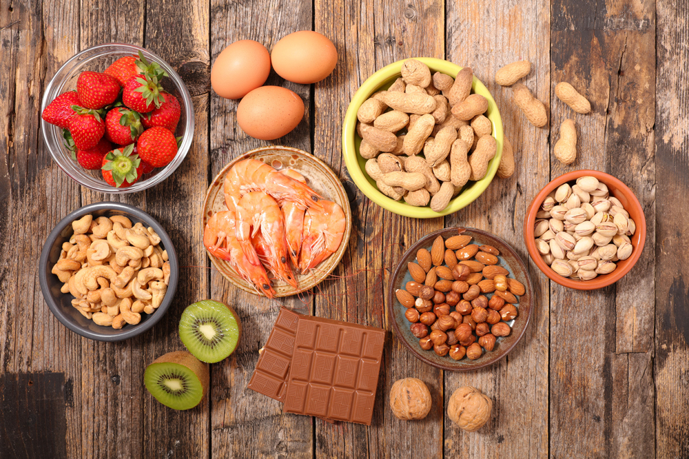 ingredientes importantes ante alergias e intolerancias alimentarias