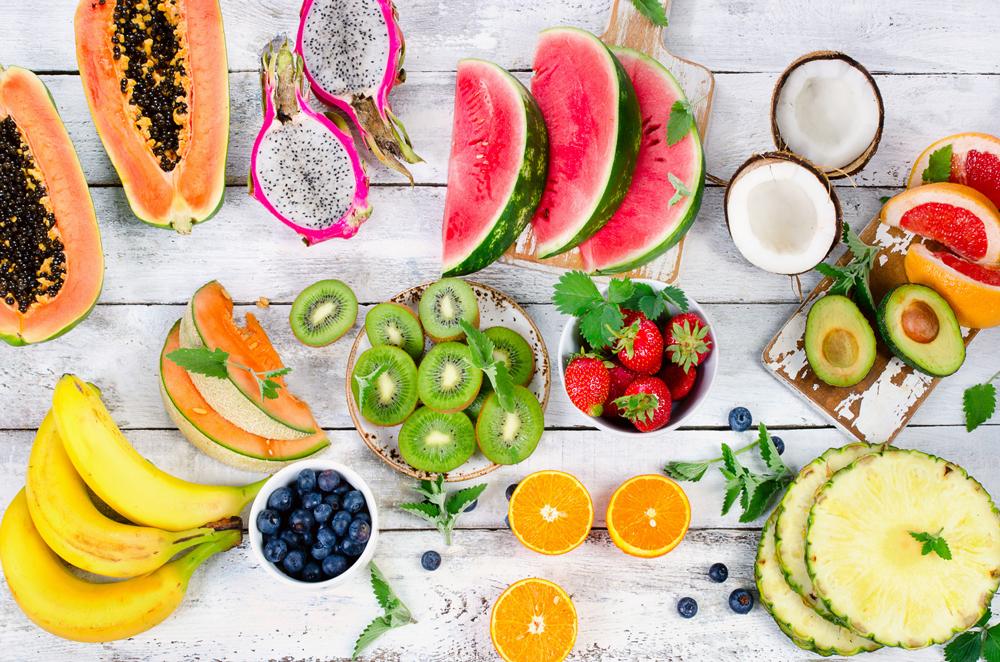 fruta en su momento optimo de maduracion