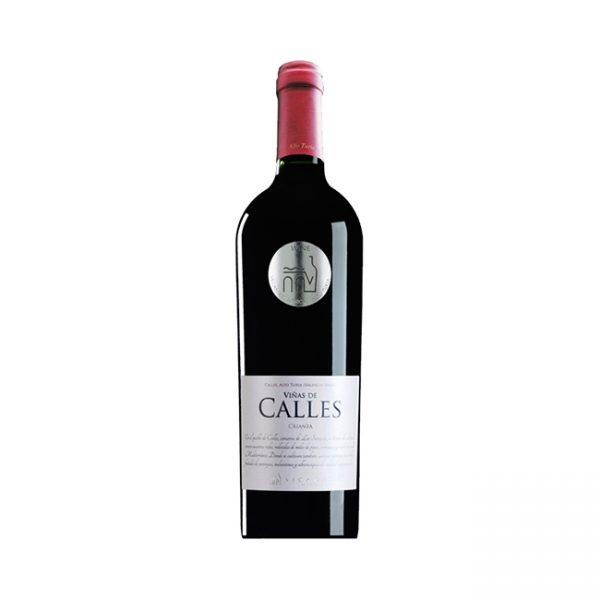 vino tinto viñas de calles crianza