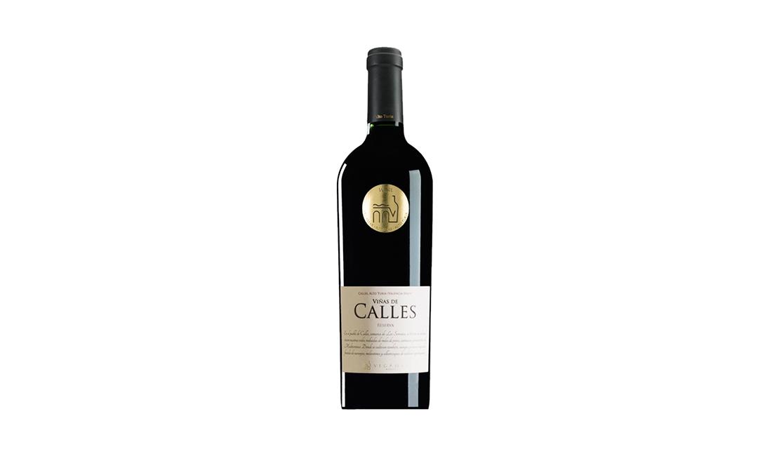 vino tinto viñas de calles reserva